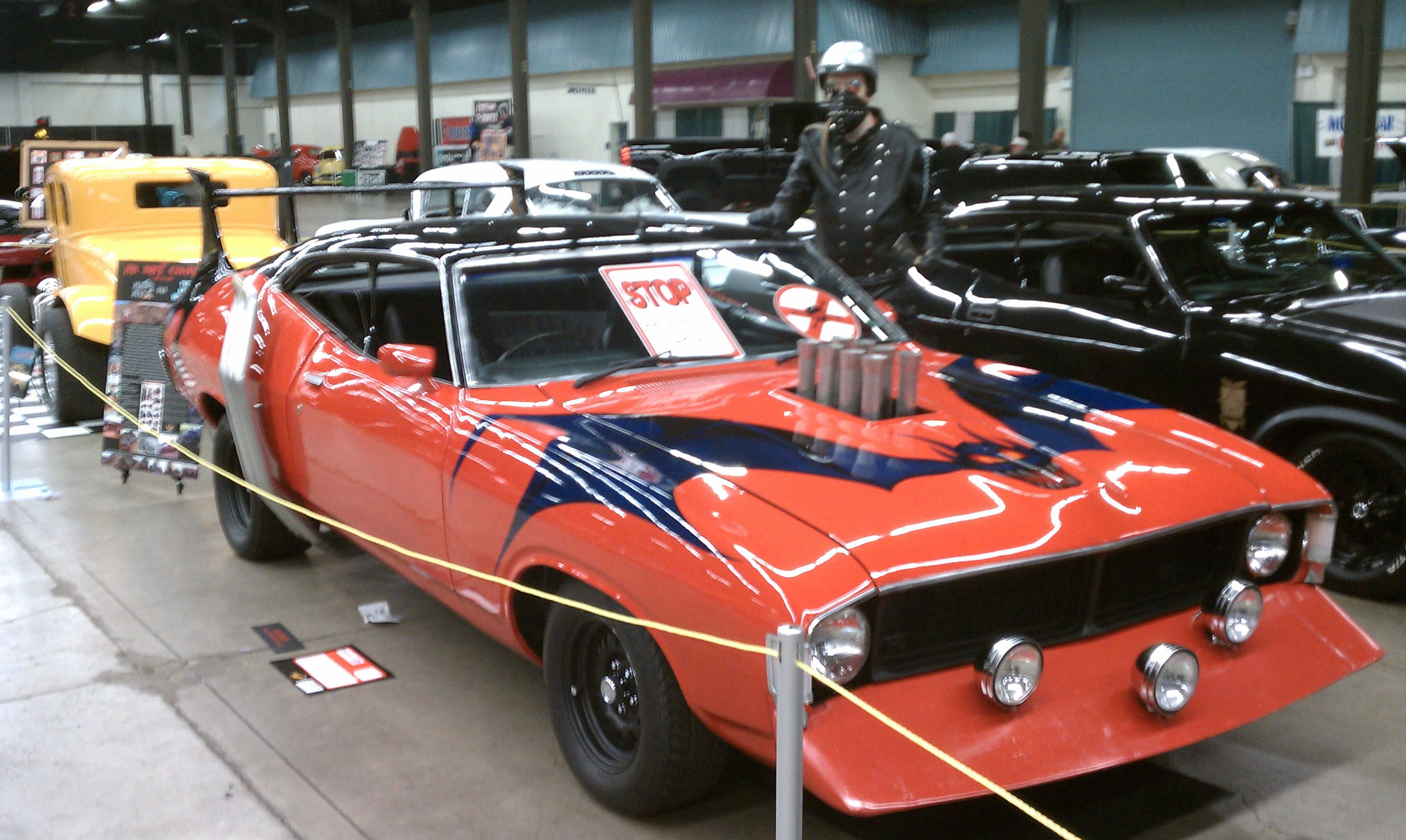 Red XA Wipeout Falcon from the Road Warrior Mad Max 2
