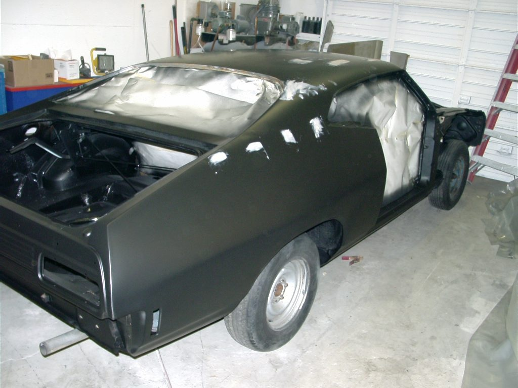 XB Falcon Body In Epoxy Primer