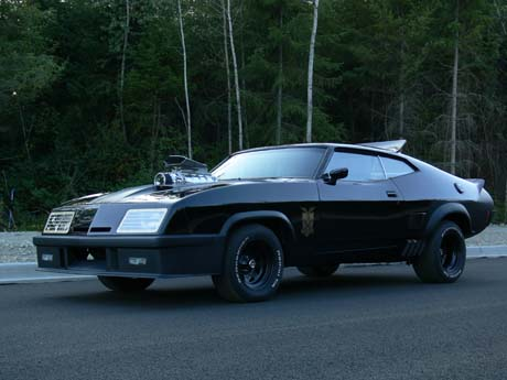 Mad Max Car Pursuit Special Interceptor